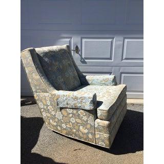 Mid-Century Modern Upholstered Swivel Rocker Preview