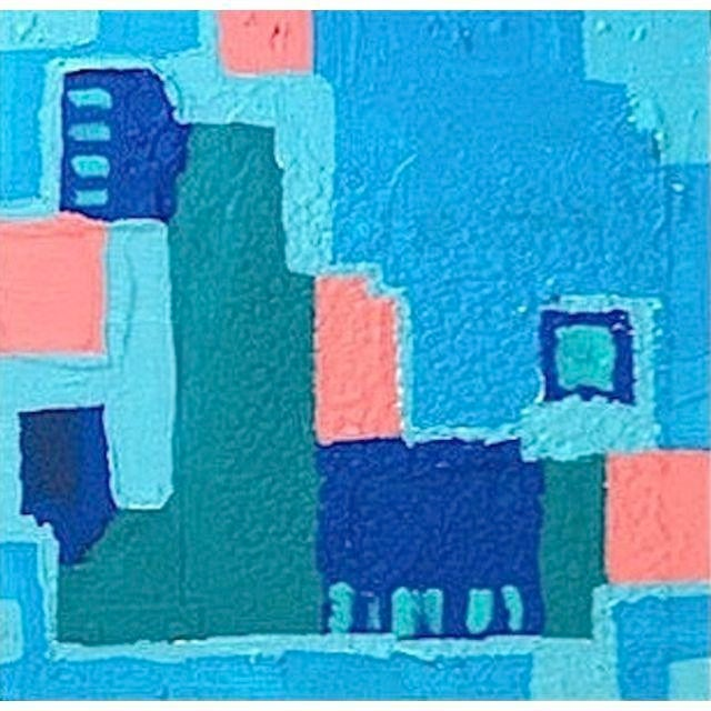 'LiNCOLN ROAD' Original Abstract Painting - Image 2 of 5