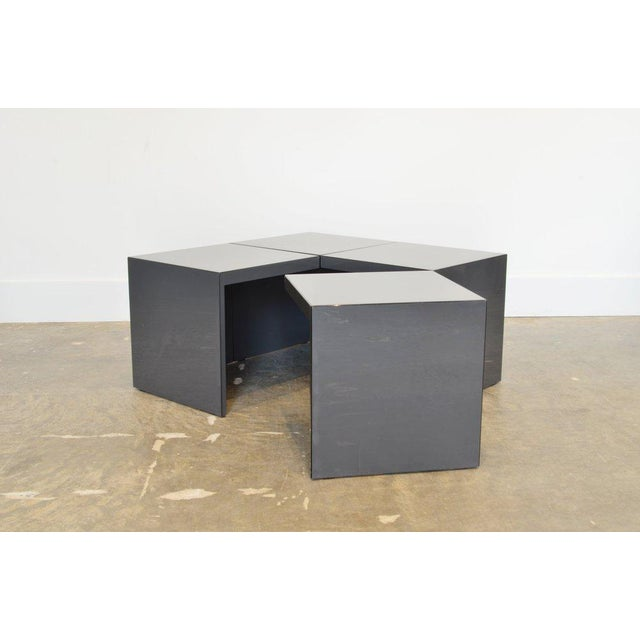 Acrylic Domino' Coffee Table by Jan Wichers and Alexander Blomberg For Sale - Image 7 of 7
