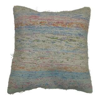 Turkish Rag Rug Pillow For Sale