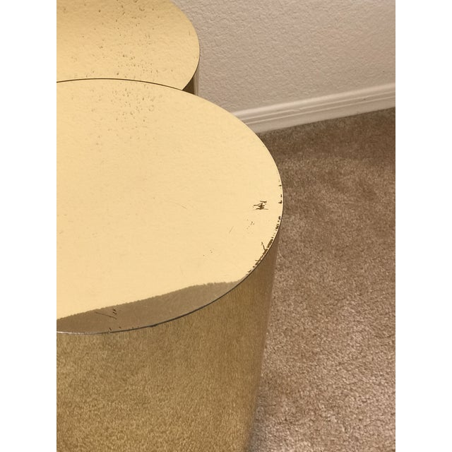 Curtis Jeré Mid-Century Modern Brass Clover Table For Sale - Image 10 of 13