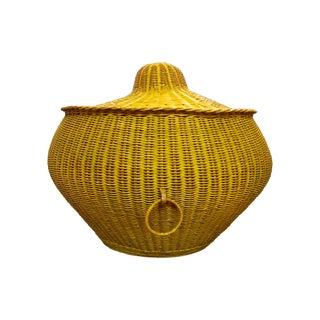 Large Snake Charmer Basket For Sale