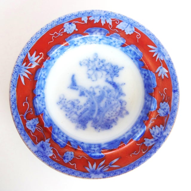 Early 19th Century Antique Mason's Staffordshire Flow Blue Dish For Sale In San Francisco - Image 6 of 10