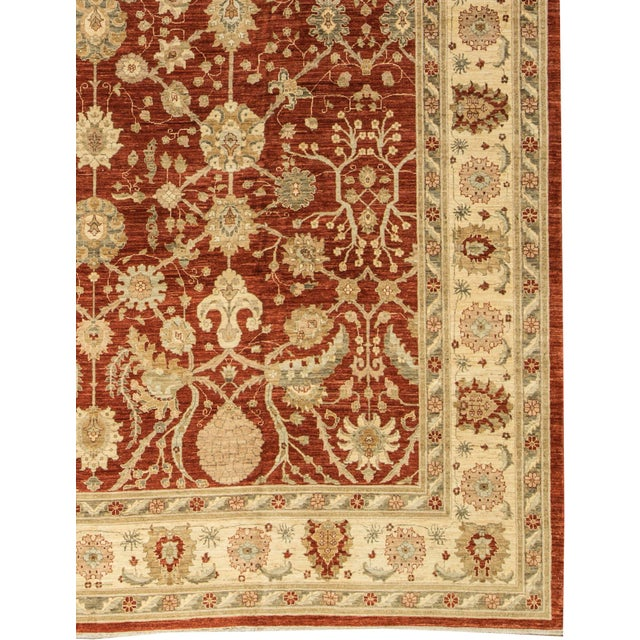 Traditional Hand Woven Rug - 13'3 X 17'6 - Image 3 of 4