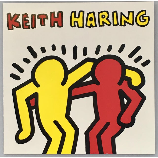 1990s Keith Haring Pop Art Announcement 1991 For Sale - Image 5 of 5