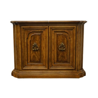 "Italian Neoclassical Bernhardt / Hibriten Furniture 41"" Flip Top Server Buffet For Sale"