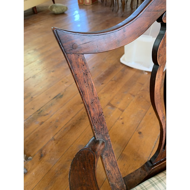 Chippendale American Chippendale Faux-Grained Armchair For Sale - Image 3 of 9