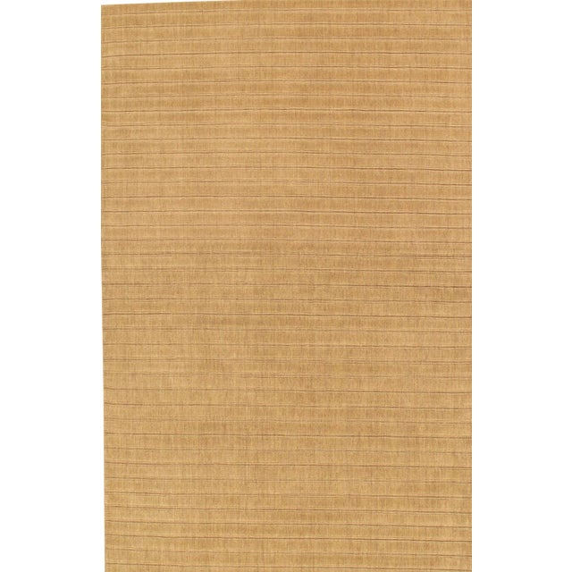 "Modern Hand-Loomed Wool Area Rug - 5' 8"" X 8' 7"" For Sale"