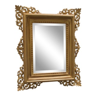 Decorative Gold Wall Mirror For Sale