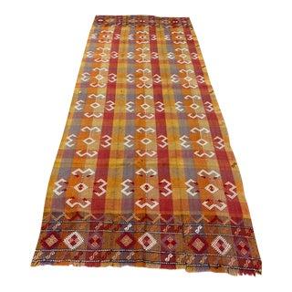 Turkish Handmade Nomadic Kilim For Sale