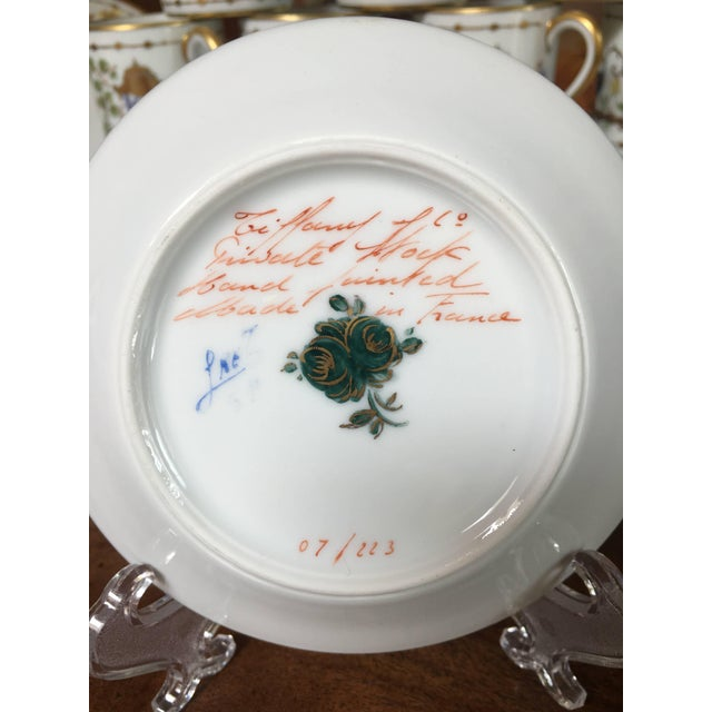Crafted from Limoges porcelain, this hand-painted design was especially created for Tiffany & Co. by Camille Le Tallec, Le...