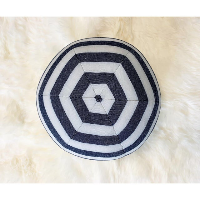 "Forsyth Kule Stripe Ball Pillow, 12"" For Sale - Image 4 of 6"