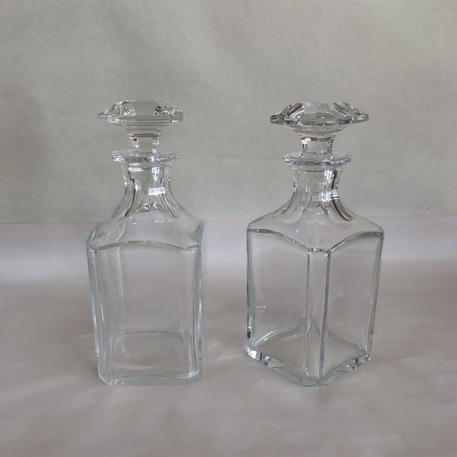 Baccarat Crystal Decanter For Sale - Image 9 of 10