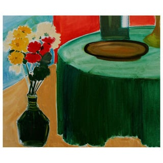 Flowers and Wine Still Life Preview