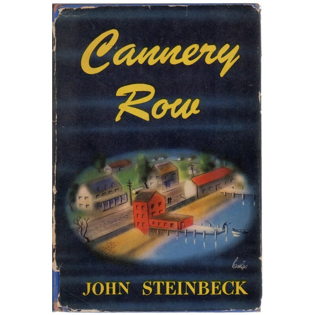 Cannery Row by John Steinbeck Hardcover Book For Sale
