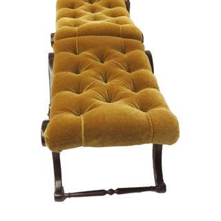 Hickory Chair Custom Golden Mohair Ottomans - Set of 2 Preview