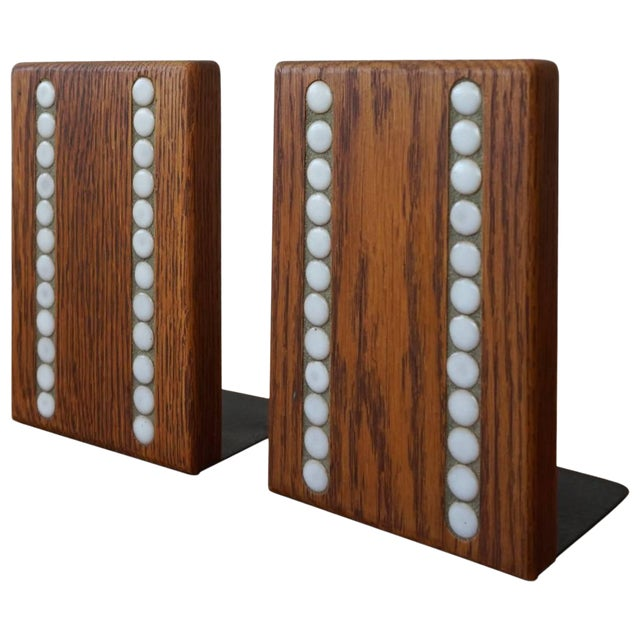 Martz Bookends for Marshall Studios For Sale