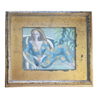 Beth Downey Lounging Lady For Sale
