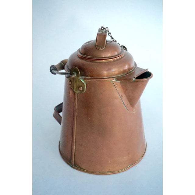 Antique Copper & Brass Kettle - Image 2 of 11
