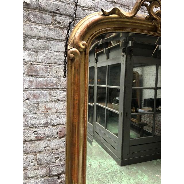 Art Nouveau Mirror For Sale - Image 4 of 7