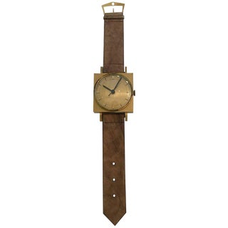 Large Wrist Watch Advertising Sign For Sale