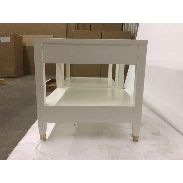 Malibu Loft White End Tables - A Pair - Image 7 of 9