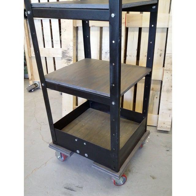 Vintage Industrial Shelving Unit - Image 7 of 8