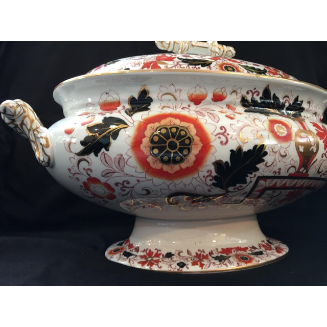 Final Markdown 19th C. Ashworth Soup Tureen & Underplate For Sale - Image 9 of 10