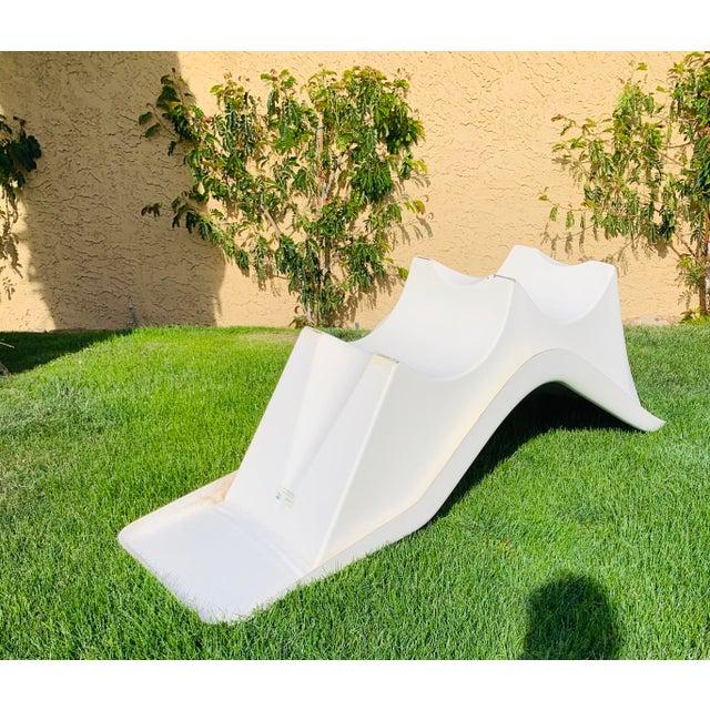 Mid 20th Century Mid-Century Fibrella Fiberglass Pool Sun Chaise Lounge by Le Barron For Sale - Image 5 of 12