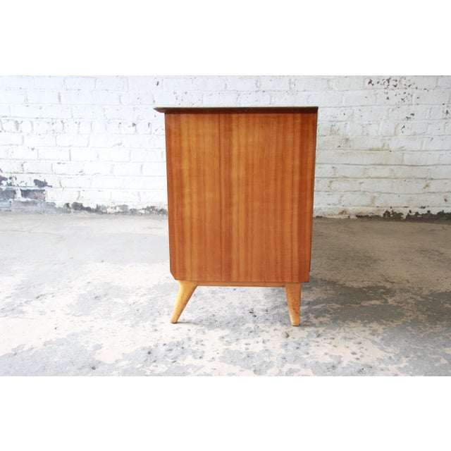 Renzo Rutili for Johnson Furniture Co. Mid-Century Modern Sideboard Credenza For Sale - Image 10 of 13