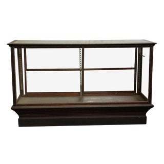 20th Century Early American Apothecary Standing Display Case For Sale