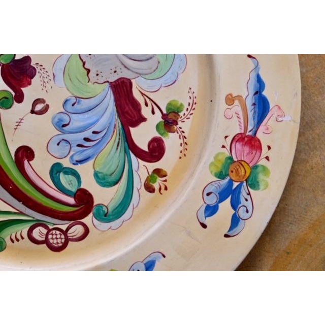 1800s Norwegian Bread Platter, Signed For Sale In Los Angeles - Image 6 of 11