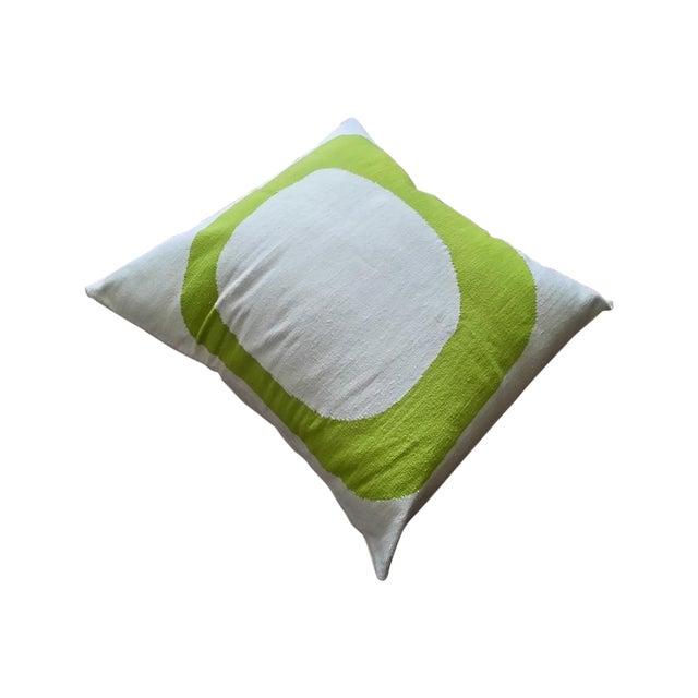 Costa Verde Handwoven Wool Pillow Floor Cushion - Image 1 of 4