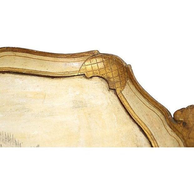 Italian Scenic Italian Florentine Tray For Sale - Image 3 of 4