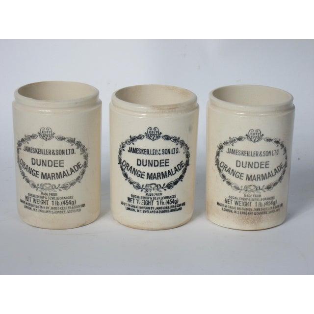 Vintage English Marmalade Jars - Set of 3 - Image 2 of 3