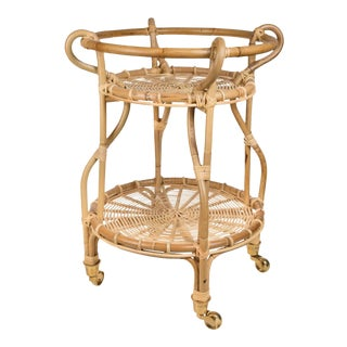 Franco Albini Fratellino Trolley - Natural For Sale