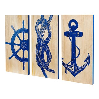 Selamat Marine Trio Hardwood Panels - Set of 3