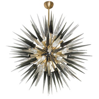 Murano Glass Sputnik Ceiling Light For Sale