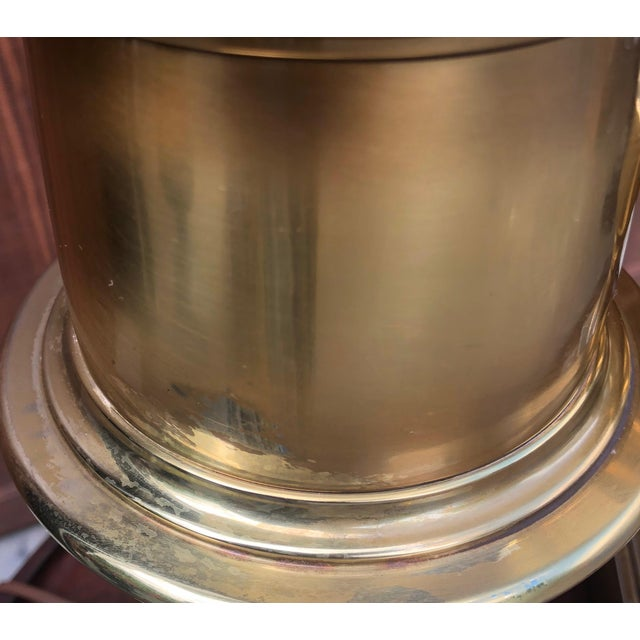 A Pair of Mid-Century Modern Stiffel Brass Lamps For Sale - Image 10 of 12