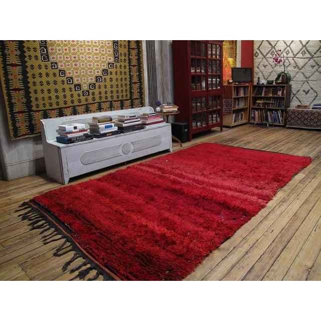 "Islamic ""Firebird"", Zayan Moroccan Berber Carpet For Sale - Image 3 of 10"