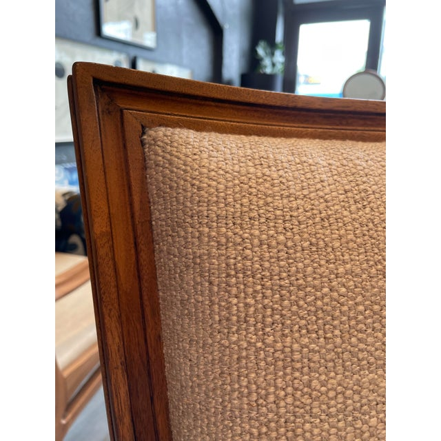 1970s Set of 8 Traditional Louis Oak Dining Chairs For Sale - Image 5 of 11