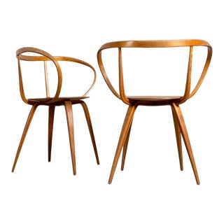 George Nelson for Herman Miller Pretzel Chairs - A Pair For Sale