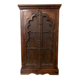 19th Century Antique Indian Armoire For Sale