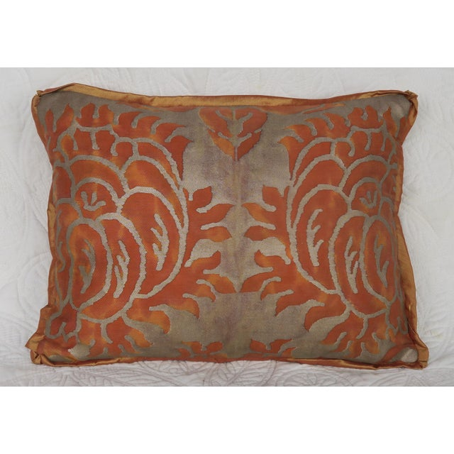 2000 - 2009 Pair of Fortuny Accent Pillows For Sale - Image 5 of 5