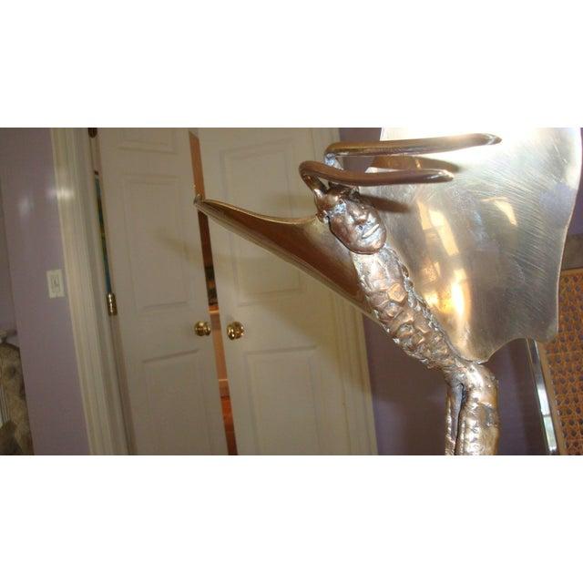 Modern 1980s Vintage McLean Bronze Fantasy Sculpture For Sale - Image 3 of 5