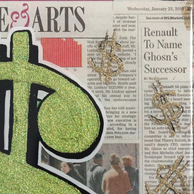 """Figurative """"Life & Arts"""" Original Artwork by Sean Keith For Sale - Image 3 of 9"""