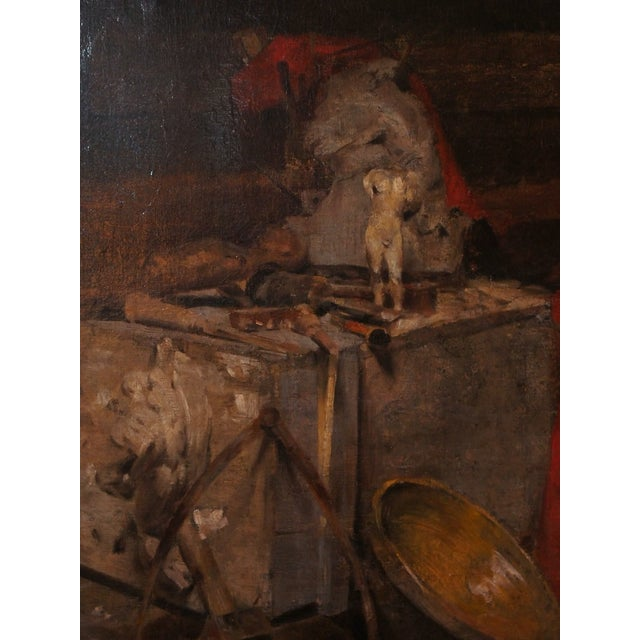 Early 20th Century 20th Century Still Life Painting by Georges Ernest Saulo For Sale - Image 5 of 8