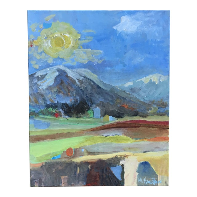 """""""Big Sky Country"""" Original Painting by Mary Houston For Sale"""