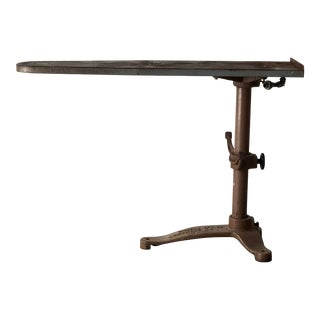Early 20th Century Industrial Ironing Board For Sale
