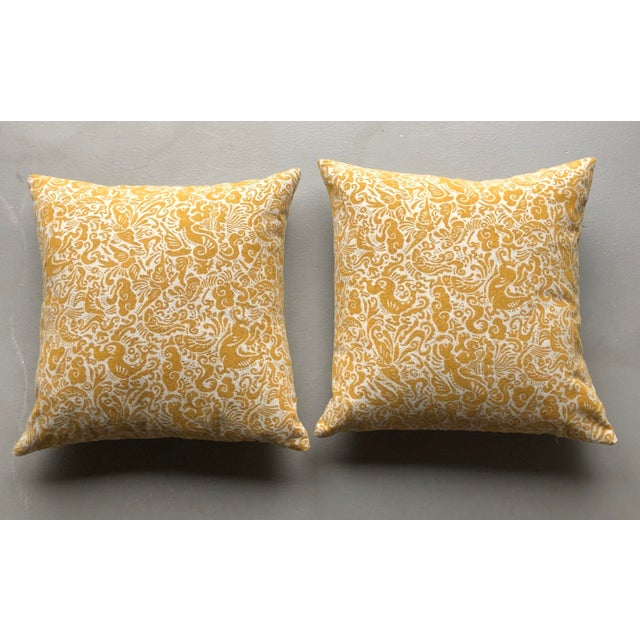2010s Pair of Zak & Fox Amitan Pillows For Sale - Image 5 of 5